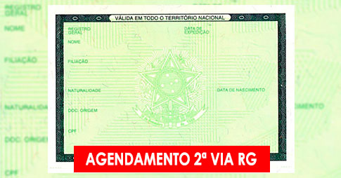Agendamento 2ª Via do RG no Poupatempo
